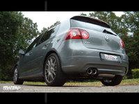 Milltek Выхлоп 70мм катбэк с резонатором и глушителем для AUDI A3/SEAT Leon/VW Golf GTI Mk5