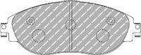 FERODO DS2500 Колодки тормозные передние для AUDI S3 (8V) / VW GOLF R MK7 / SKODA OCTAVIA RS A7/SEAT LEON CUPRA R
