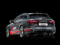 AKRAPOVIC Титановая выхлопная система Evolution для AUDI RS6 RS7 2014+