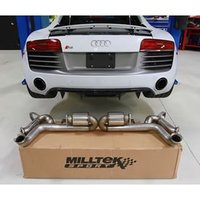 Milltek Выхлоп катбэк Supercup для Audi R8 5.2 FSI V10