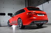 Milltek Выхлопная система для Audi RS4 4.2 FSI V8