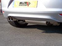 Milltek Выхлоп катбэк с резонатором и глушителем для VW Scirocco 2.0 TSI