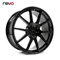 REVO RV019 Комплект литых дисков 19x8.5 Чёрный глянец для Audi/VW/Skoda/Seat