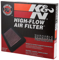K&N Фильтр воздушный в штатное место Audi A4/RS4/S4 B7 2.0 TFSI
