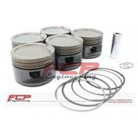 Audi 200 S2 RS2 S4 S6 2.2T 20V FCP forged pistons kit 82.00mm CR 8.5