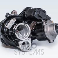 Turbosystems IS38 Stage1 490+ HP турбокомпрессор гибрид болт-он для AUDI/SEAT/SKODA/VW 2.0 TSI/TFSI MQB