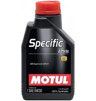 Моторное масло Motul Specific MB 229.51 5w30 (1 л.)