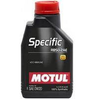 Моторное масло Motul Specific RBS0-2AE 0w20 (1 л.)