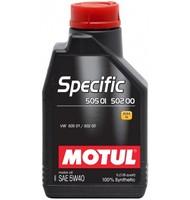 Моторное масло Motul Specific VW 505.01 502.00 5w40 (1 л.)