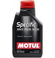 Моторное масло Motul Specific VW 506.01 506.00 503.00 0w30 (1 л.)