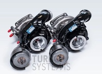 Turbosystems Porsche Carrera 3.0 550+ HP 2015 гибридная турбина