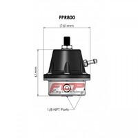 Turbosmart 800 1/8 NPT fuel pressure regulator TS-0401-1101